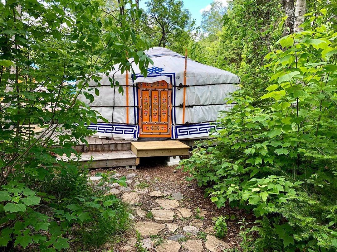 Photo of a Glamorous Yurt, a Digital Detox Must!