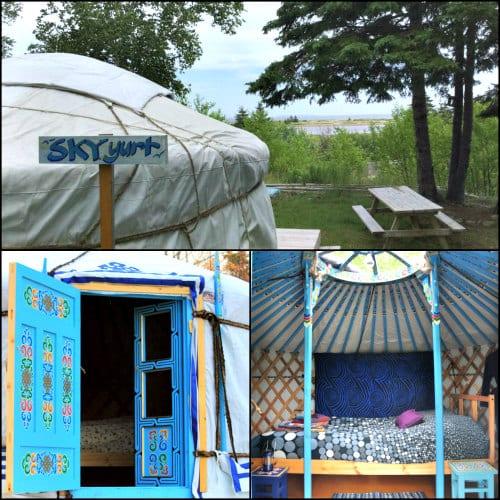 Small Mongolian Yurt Sky