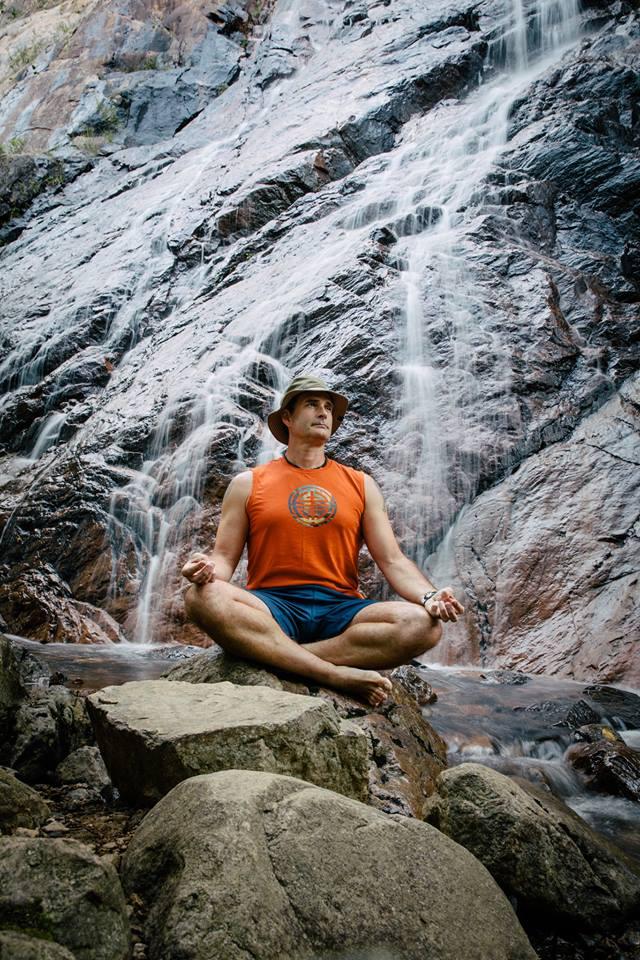 Meditating Near Widows Veils Falls