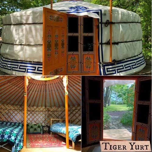 Views of the Tiger Yurt