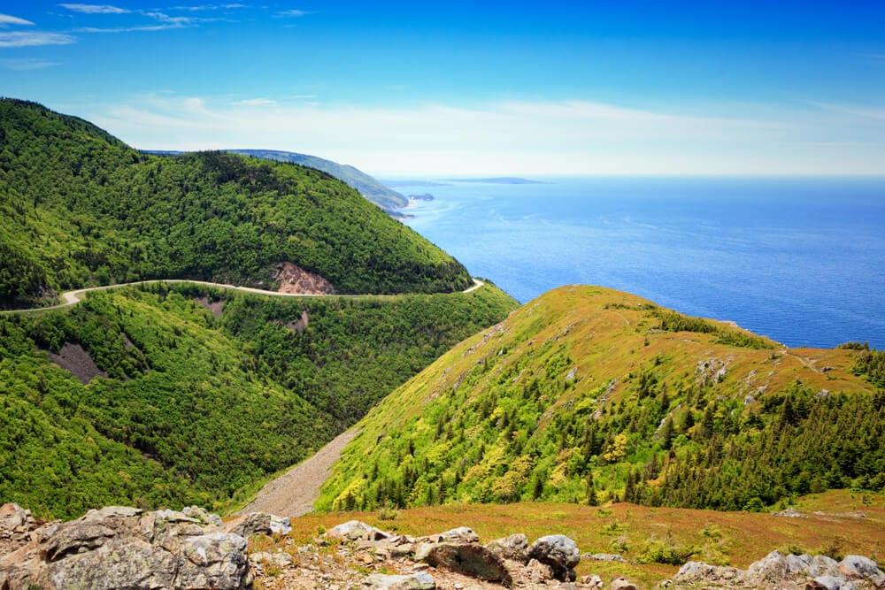 Photo of Cape Breton Island's Oceanic Shoreline. Click Here for the Very Best of Cape Breton!