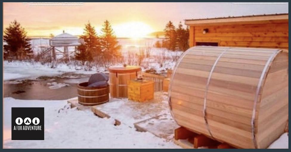 Barrel Sauna A for Adventure Logo