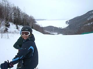 Cape Smokey Skier, NS