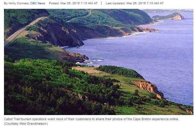 Cabot Trail tourism area